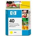 HP 40 Amarillo Original 51643A