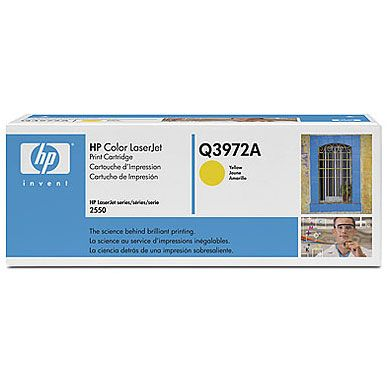 HP Color LaserJet Q3972A Original Amarillo Toner