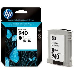 HP 940 Original Negro C4902AE