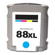 HP 88XL Cyan Remanufacturado C9386AE C9391AE