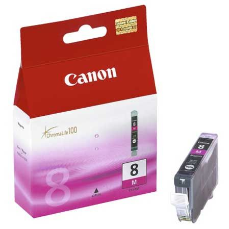 Canon CLI-8M Magenta Original CLI8M 0622B026 IP4200 IP6700D MP600 MX850