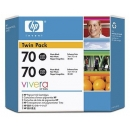 PACK 2 - HP 70 Negro Fotografico Original (Twin Pack) CB340A