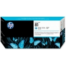 HP 81 Cabezal Light Cian Original C4954A