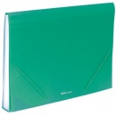 Carpeta clasificadora Plus Office A4 Verde 12 separadores