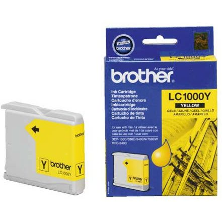 Brother LC1000Y Amarillo Tinta Original