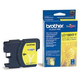 Brother LC1100HYY Amarillo Tinta Original