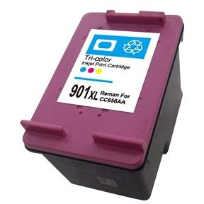 HP 901 XL TriColor Remanufacturado CC656AE
