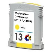 HP 13 Amarillo Remanufacturado C4817A