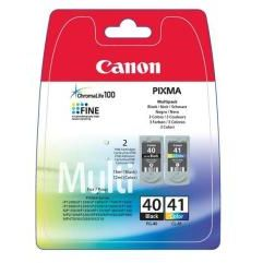 PACK Canon Original PG-40 Negro + CL-41 Color 0615B043 PG40 CL41