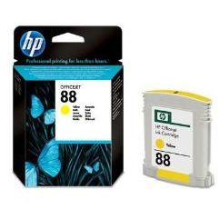HP 88 Amarillo Original C9388AE con Vivera Ink