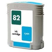 HP 82 Cyan Remanufacturado C4911A