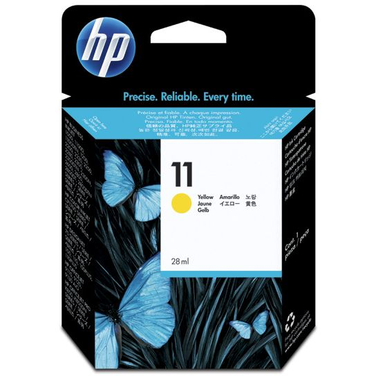 HP 11 Amarillo Original C4838AE