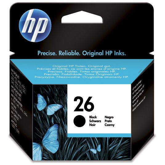 HP 26 Negro Original 51626AE