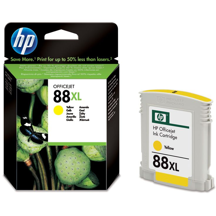 HP 88XL Amarillo ALTA CAPACIDAD Original C9393AE con Vivera Ink