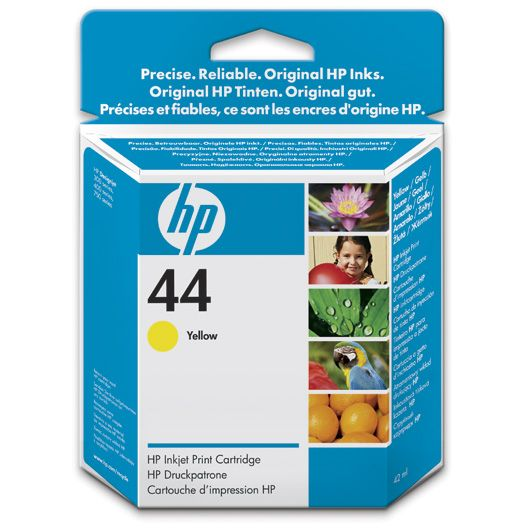 HP 44 Amarillo Original 51644YE
