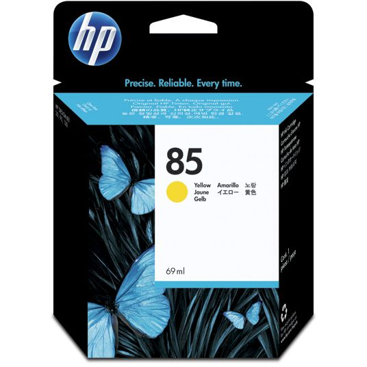 HP 85 Amarillo Original C9427A