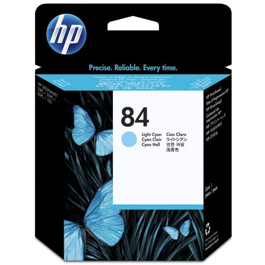 HP 84 Cabezal Light Cyan C5020A