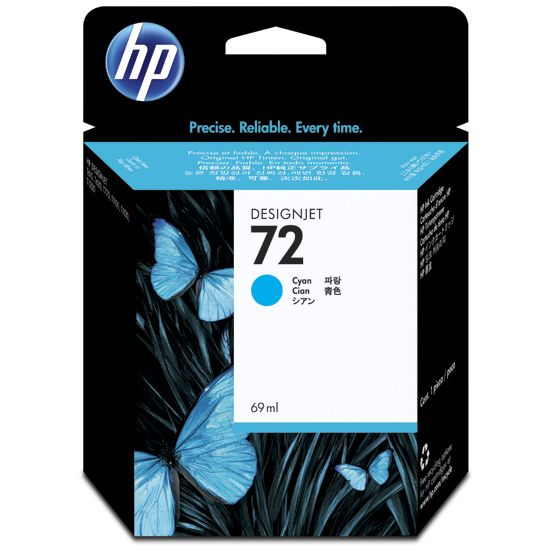 HP 72 Cian Original con Vivera Ink C9398A