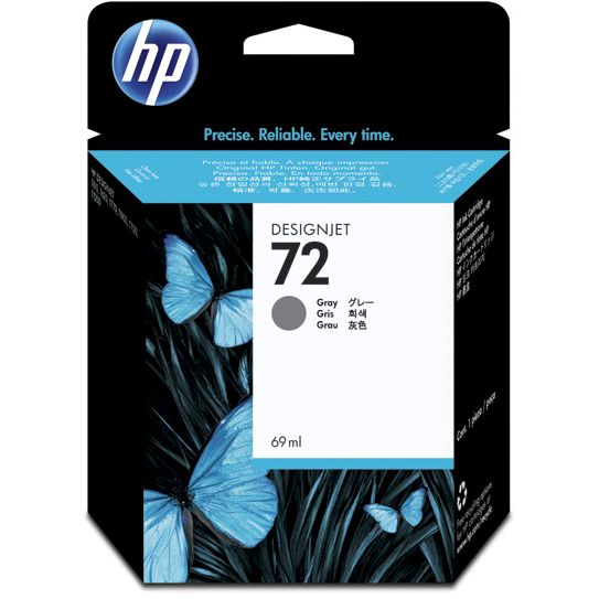 HP 72 Gris Original con Vivera Ink C9401A