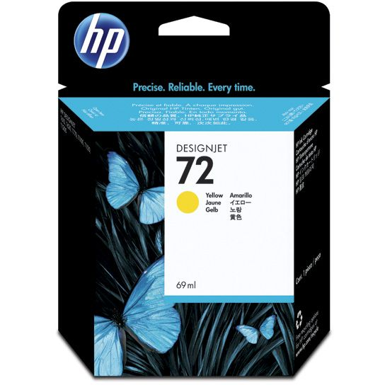 HP 72 Amarillo Original con Vivera Ink C9400A