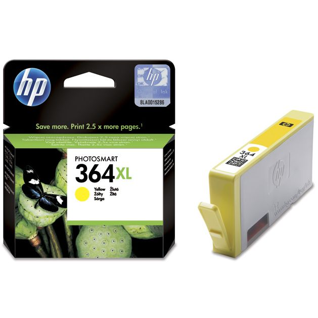 HP 364XL Amarillo Original con Vivera Ink CB325EE