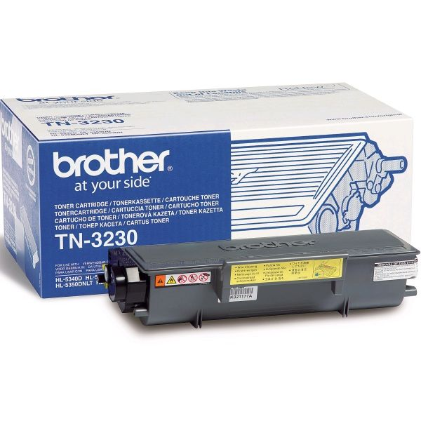Brother TN3230 Negro Original Toner HL5350 HL5370 MFC8890DW TN-3230