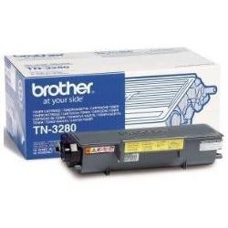 Brother TN3280 Negro Original Toner HL5340 HL5370 DCP8070 MFC8370 MFC8890 TN-3280